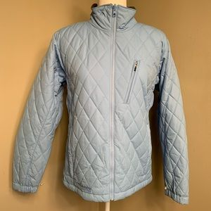Brand New Pale Blue Columbia Puffer Jacket